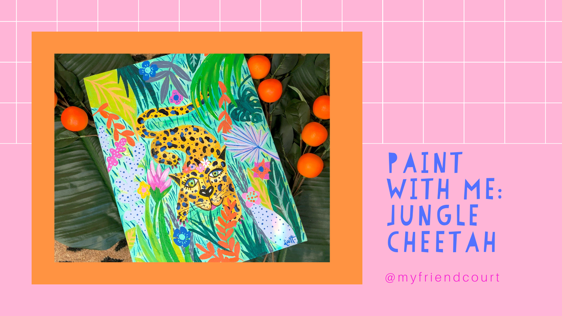 Paint-with-me_Jungle-Cheetah_My-friend-Court
