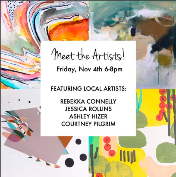West-Elm-Ponce-City-Market_Meet-the-Artist-Night_Courtney-Pilgrim_Rebekka-Connelly_Jessica-Rollins_Ashley-Hizer